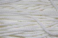 Канат декоративный акрил 8мм (50м) белый, фото 1