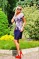 Платье-туника женское летнее+большой размер