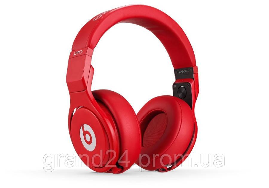 Наушники Monster Beats Pro by Dr.Dre Red Hearphones Монстер Битс Про бай ДР  Дре 3ec1b1b663dea