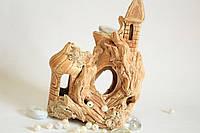 Аквариум замок малый