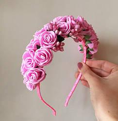 Веночек из роз