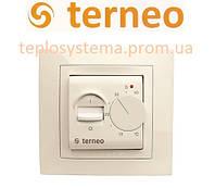 Терморегулятор для теплого пола TERNEO mex unic (слоновая кость), Украина