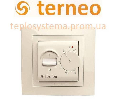 Терморегулятор для теплого пола TERNEO mex unic (слоновая кость), Украина, фото 2