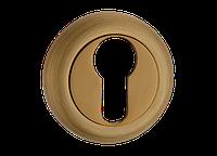 Накладка под цилиндр MVM E5 MACC - матовая бронза, фото 1