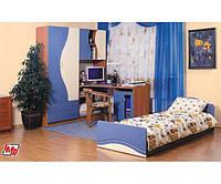 Эколь матовая (кровать с матрасом+ угол+ комод)