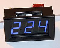 Цифровой LED вольтметр AC 75-300V голубой
