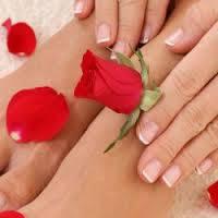 Укрепление (покрытие) гелем натуральных ногтей * руки / ноги