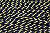Канат декоративный акрил 8мм (50м) синий+желтый