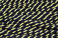 Канат декоративный акрил 8мм (50м) синий+желтый , фото 1