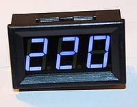 Цифровой LED вольтметр AC 75-300V белый, фото 1