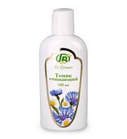 """Натуральный тоник для лица очищающий """"Dr.Green"""" мягко и деликатно очищает кожу от макияжа и загрязнений(100мл)"""