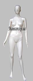 Манекен женский Сиваян с головой аватара белый