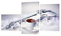 Модульная картина 171 Белая скрипка