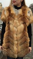 Жилет из меха лисы, фото 1