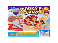 """Набор для лепки """"Готовим печенье"""" (пластилин) Kid's Dough: 4 цвета"""
