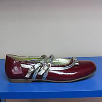 Школьные туфли для девочек B&G 36р(23.5см стелька)