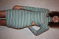 Трикотажное платье женское  короткое