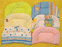 Детская подушка в коляску для новорожденных (разные цвета)