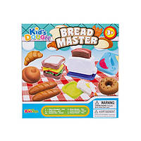 "Набор для лепки ""Bread Master"" (пластилин) Kid's Dough: 4 цвета"