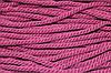 Канат декоративный акрил 8мм (50м) т. розовый