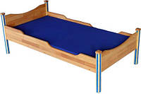 "Детская кроватка из дерева ""ТУРА"" ТМ КИНД (70х140 см)"