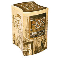 """Чай """"F&S"""" - BRITAIN DREAM 200г. с лепестками василька и ароматом бергамота и цитрусов, 200 г"""