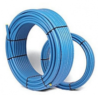 Труба полиэтиленовая синяя 25 PN 10