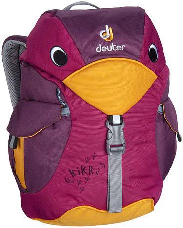 Рюкзак детский Deuter Kikki magenta/blackberry (36093 5505)