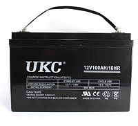 Универсальный гелевый аккумулятор батарея BATTERY GEL 12V 100A