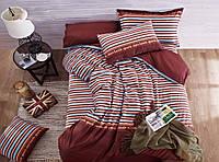"""Комплект постельного белья из сатина печатного ТМ """"Bella Donna"""" Модерн. Евро"""