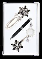 Набор подарочный Star (ручка шар.+брелок+закладка) Langres