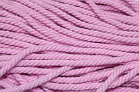 Канат декоративный акрил 8мм (50м) розовый , фото 1