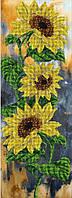 Набор для вышивания бисером Цветок солнца КИТ 21115