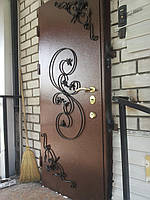 Порошковая покраска дверей антиками