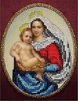 Набор для вышивания бисером Сикстинская Мадонна 1. КИТ 51015