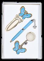 Набор подарочный Fly (ручка шар.+брелок+закладка) Langres