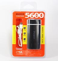 Мобильная зарядка POWER BANK 5600ma Зарядное портативное устройство
