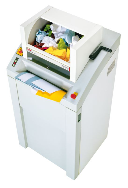 HSM 450.2 (3,9х40 мм.) измельчитель для бумаги премиум класса.