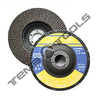 Круг лепестковый P120 125x22.2 шлифовальный торцевой (клт) Solution - оксид алюминия