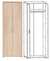 Шкаф для одежды_SZF 2D/79/220 Офис Лайн (Гербор ТМ)