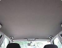Перетяжка потолка и стоек тканью