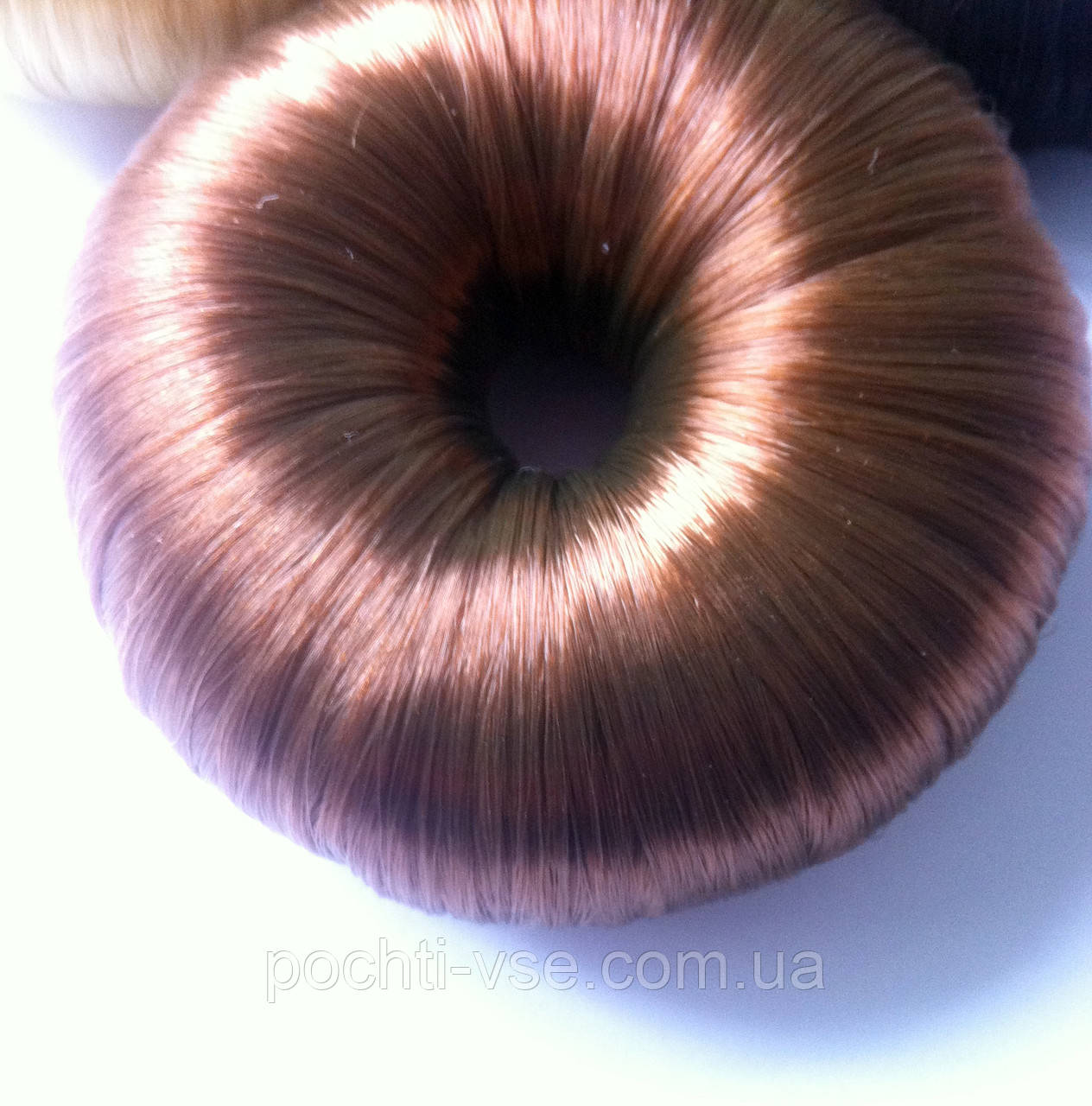 Бублик из искуственных волос, для волос д. 8см