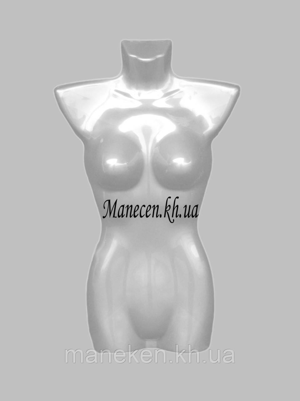 Манекен полуобъемный женский р42-44 подвесной с логотипом орла на груди