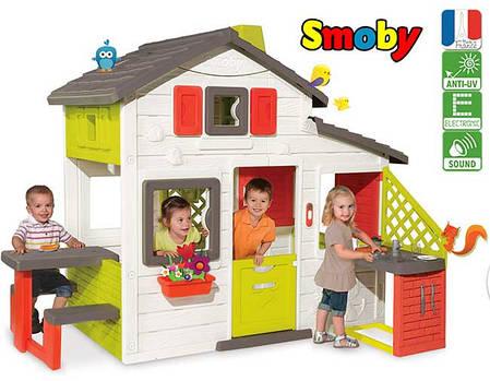 Игровой домик для детей с кухней Smoby 810201, фото 2