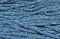 Канат декоративный акрил 8мм (50м) меланж голубой, фото 1
