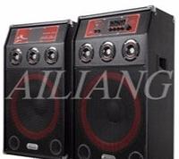 Профессиональные колонки AILIANG 9015 + 2 беспроводных микрофоны, акустические колонки ailiang