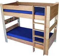 """Двухярусная кровать из дерева """"ТУРМ"""" ТМ КИНД (90х190 см)"""