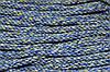 Канат декоративный акрил 8мм (50м) меланж синий