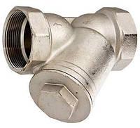 Фильтр механической очистки VALTEC VT 192, DN40, DN50 косой (Италия)