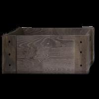 008 Деревянный ящик с вырезанными ручками 53х33х21